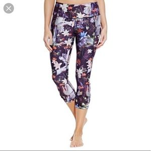 CALIA Floral Capri Leggings